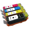 4 Tusz 655 HP 3525 6525 4625 5525 DeskJet drukarki