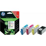 HP 4 tusz 920XL PRO 6000 6500A 7000 7500 drukarki