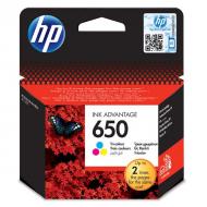 HP 650 tusz drukarki DeskJet 1515 2545 kolorowy