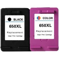 2 tusze 650XL HP 2515 3515 2545 3545 1515 drukarki