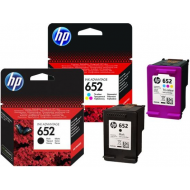 2 HP 652 Tusz 1115 2135 4535 3635 drukarki DeskJet